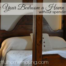 Make Your Bedroom a Haven {Day 10}