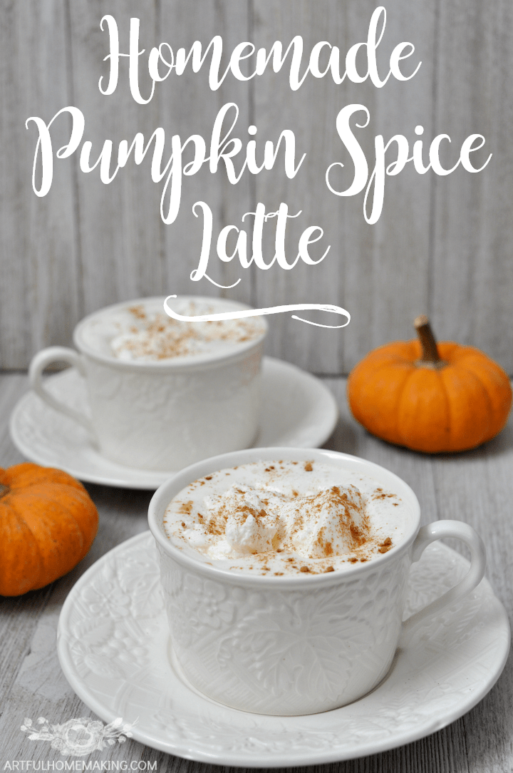 This Homemade Pumpkin Spice Latte Is Healthier, Tastier, And Even Quicker Than Starbucks