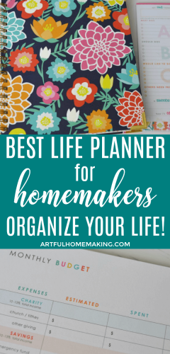 Best Planner for Homemakers