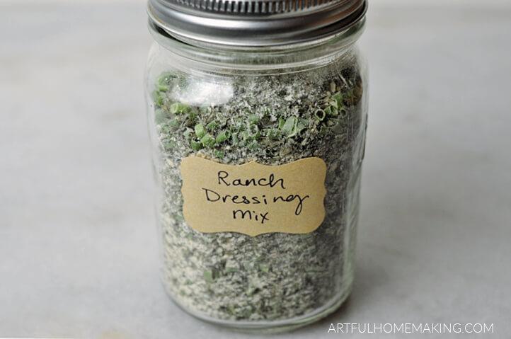 homemade ranch dressing mix bulk