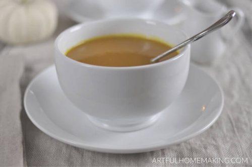 Butternut Squash Soup Simple Recipe