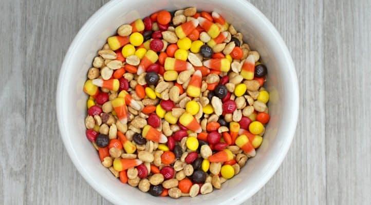 Harvest Candy Corn Snack Mix