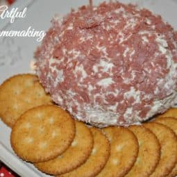 Holiday Cheese Ball   Easy to Make Just 4 Ingredients