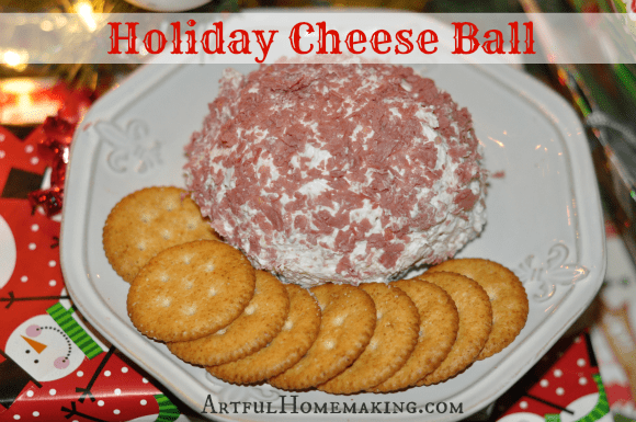 Holiday Cheese Ball Recipe