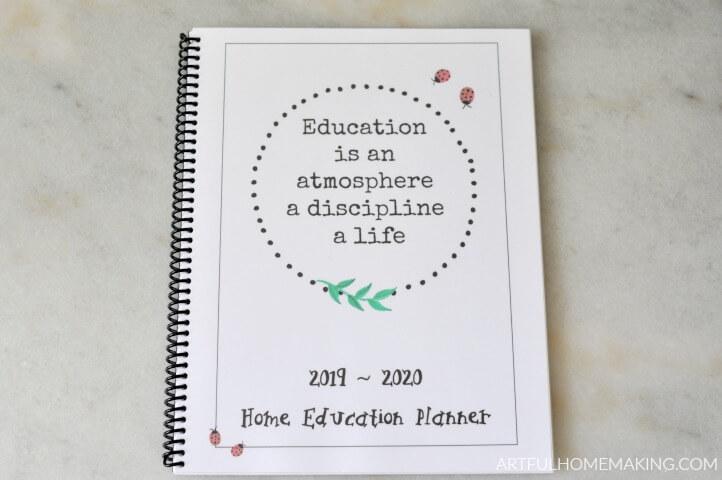 charlotte mason planner