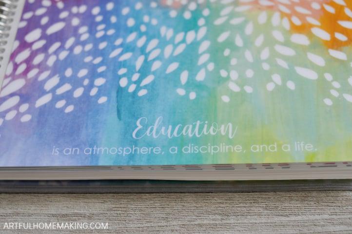 erin condren homeschool teacher lesson planner