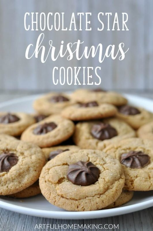 This traditional Chocolate Star Cookies recipe is one we try to make every Christmas!