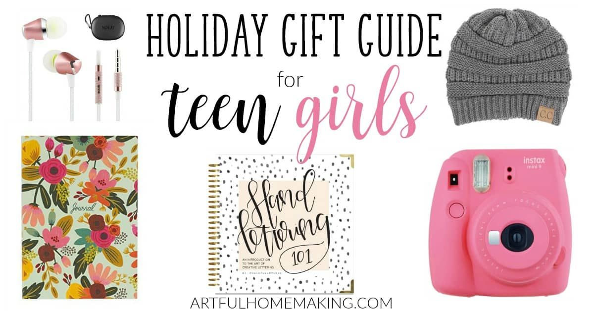 teen girl gift ideas your daughter will love artful homemaking
