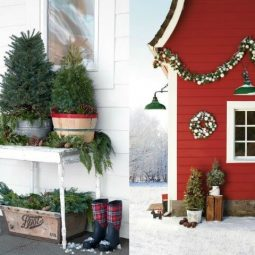 19 Creative and Inspiring Christmas Porch Ideas