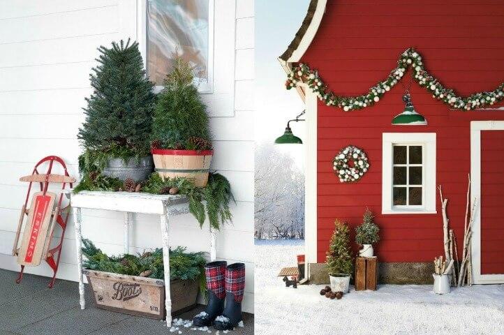 19 Creative And Inspiring Christmas Porch Ideas Artful Homemaking