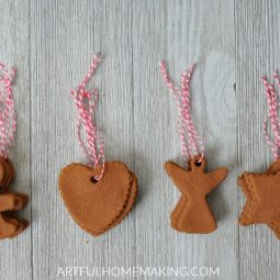 Easy Handmade Cinnamon Ornaments