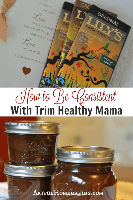 How to Be Consistent With Trim Healthy Mama