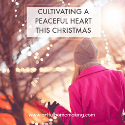 Cultivating a Peaceful Heart This Christmas