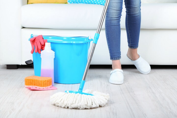 deep clean your house