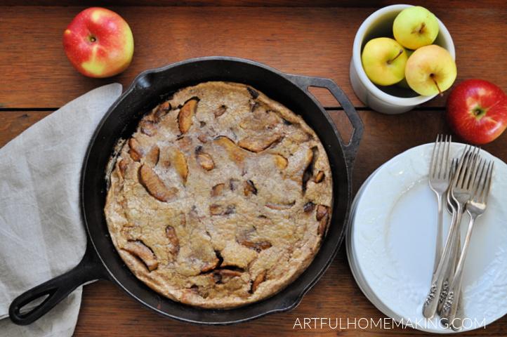 dutch baby apple pancake
