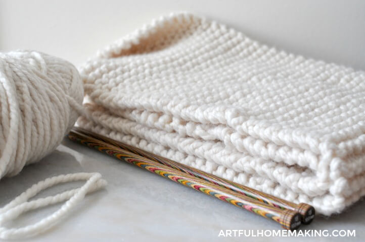 knit cowl pattern yarn needles
