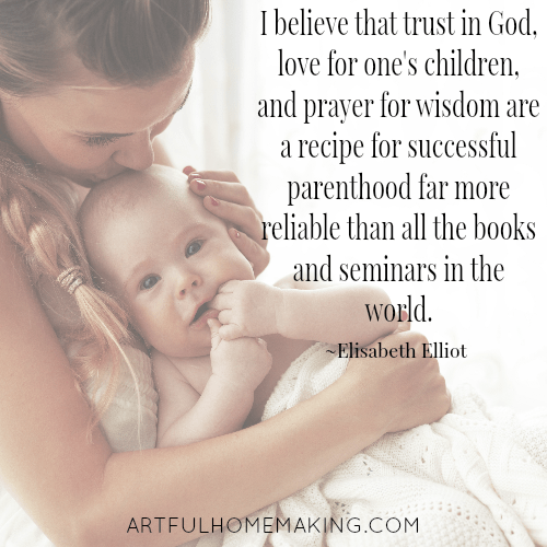 Elisabeth Elliot motherhood quotes