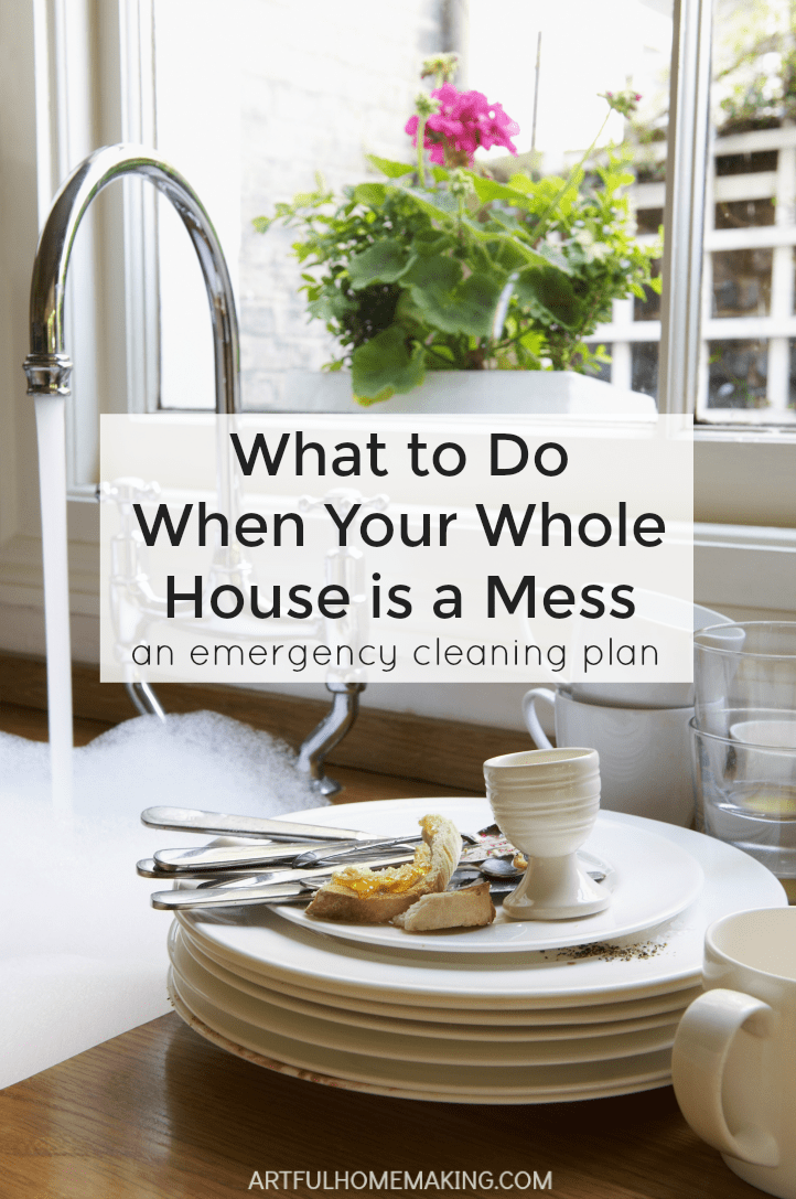 What to do when your whole house is a mess!