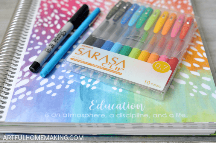 use the erin condren teacher planner for homeschool