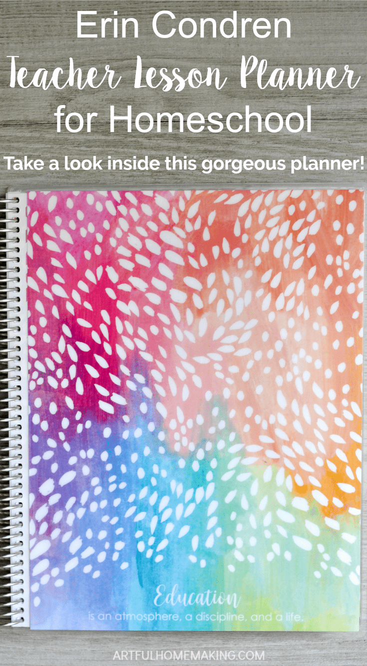 This planner is awesome for homeschool planning with a few simple modifications! Best planner ever!