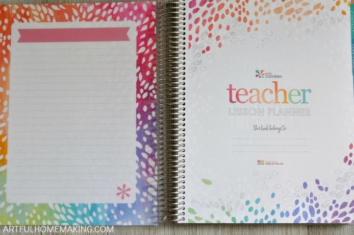 erin condren teacher lesson planner review