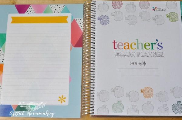 erin condren teacher lesson planner for homeschool