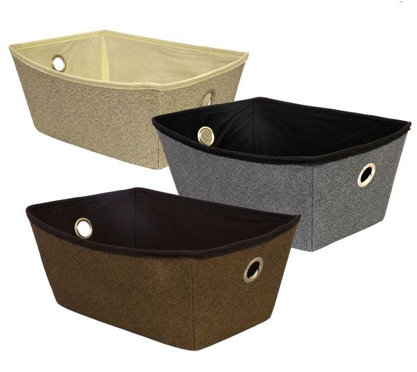 dollare store fabric storage baskets