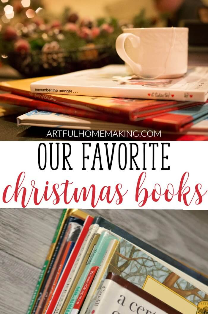 Check out this wonderful list of Christmas books!
