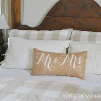Farmhouse Summer Bedroom Tour