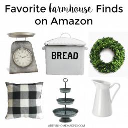 Favorite Farmhouse Finds on Amazon