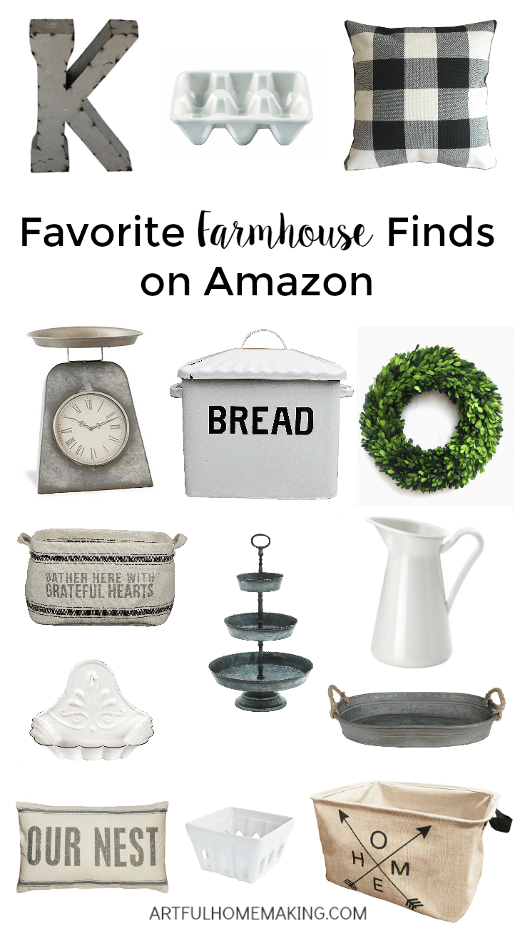 Favorite farmhouse finds on Amazon!