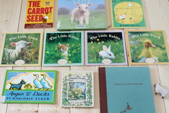 spring picture books