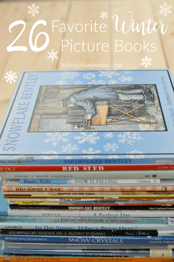 This is a great list of the best winter picture books for kids!