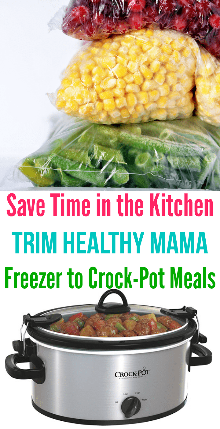 Love this awesome list of Trim Healthy Mama crock-pot freezer meals!!
