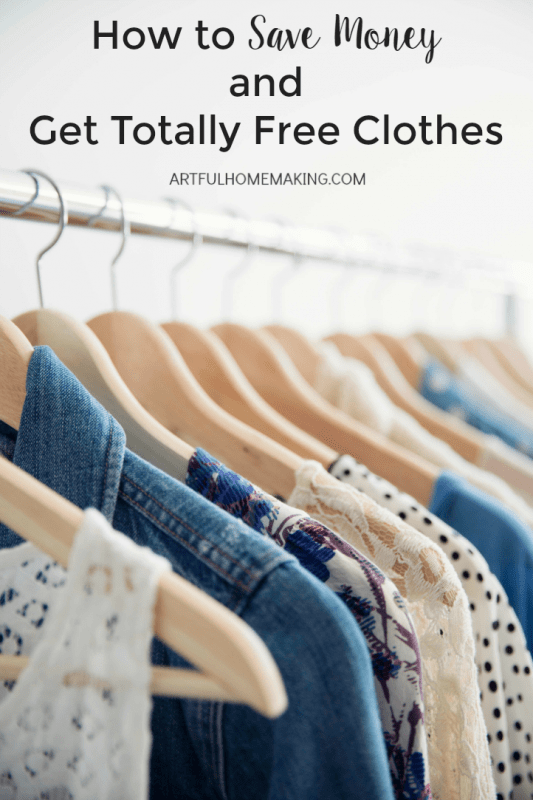 Short on funds? Get your clothes for free!