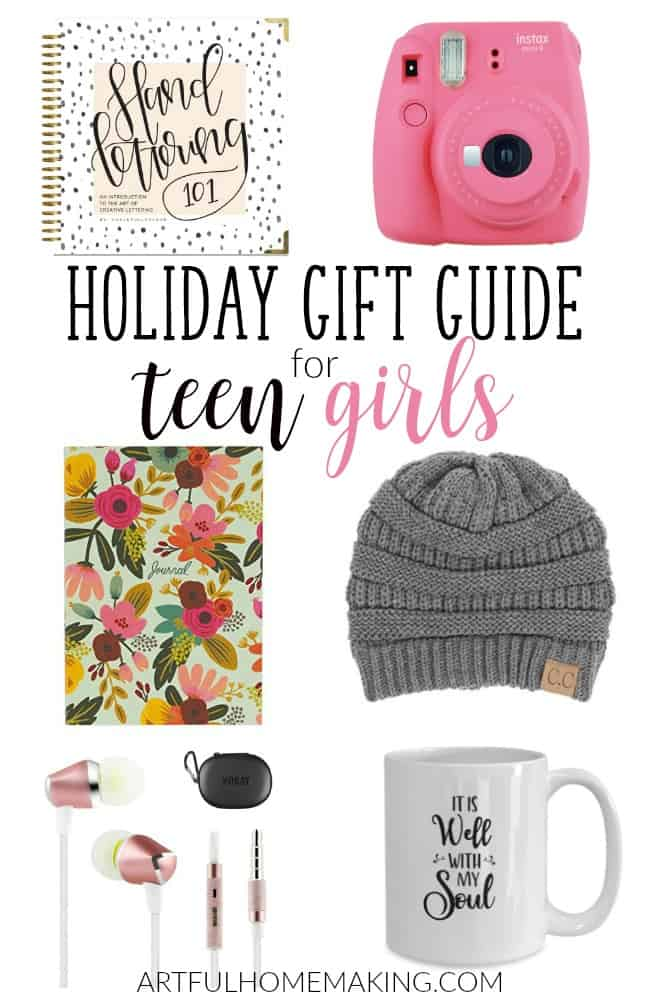 Take the stress out of shopping for your teenagers with this gift guide for teen girls!