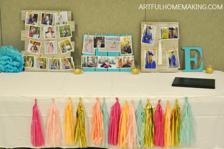 homeschool high school graduation decor