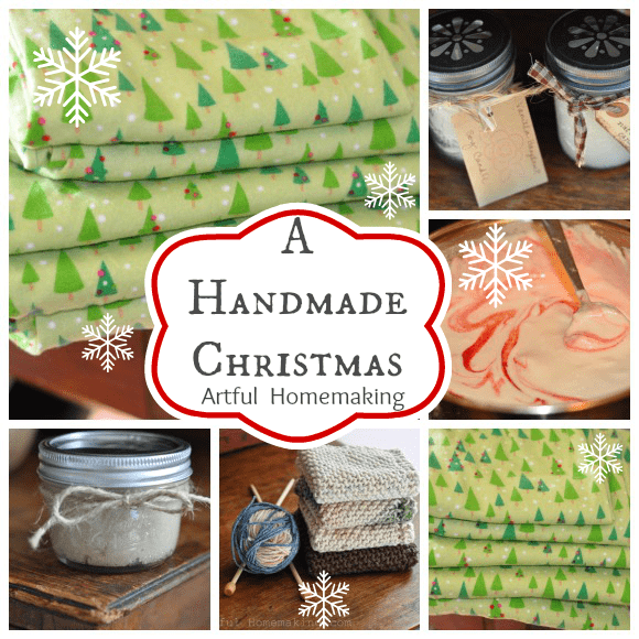 Handmade Christmas gift ideas!
