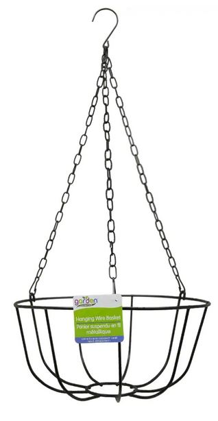 dollar store hanging wire plant basket