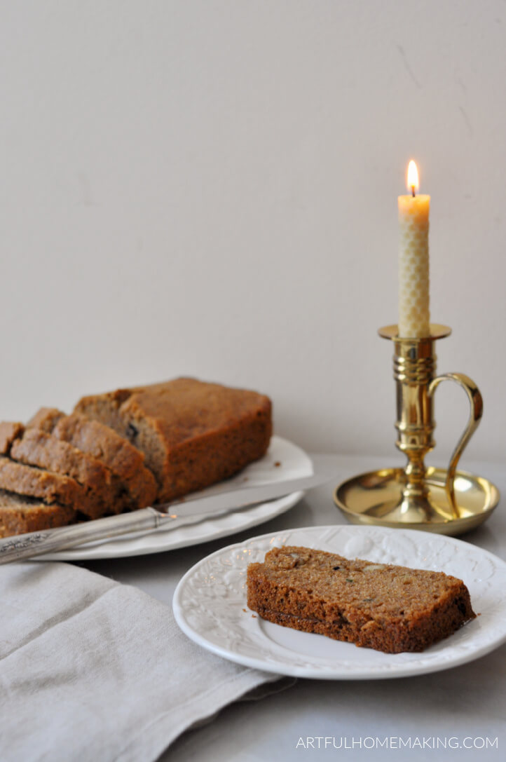 zucchini bread with honey