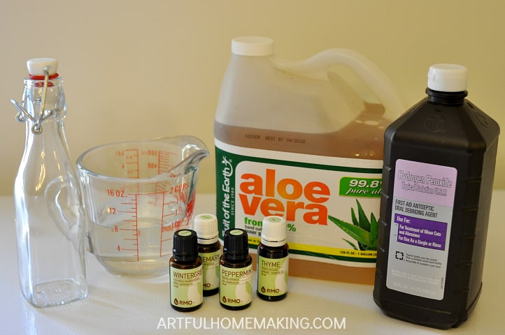 homemade essential oil mouthwash recipe