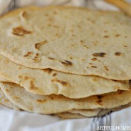 Easy Sourdough Tortillas Recipe