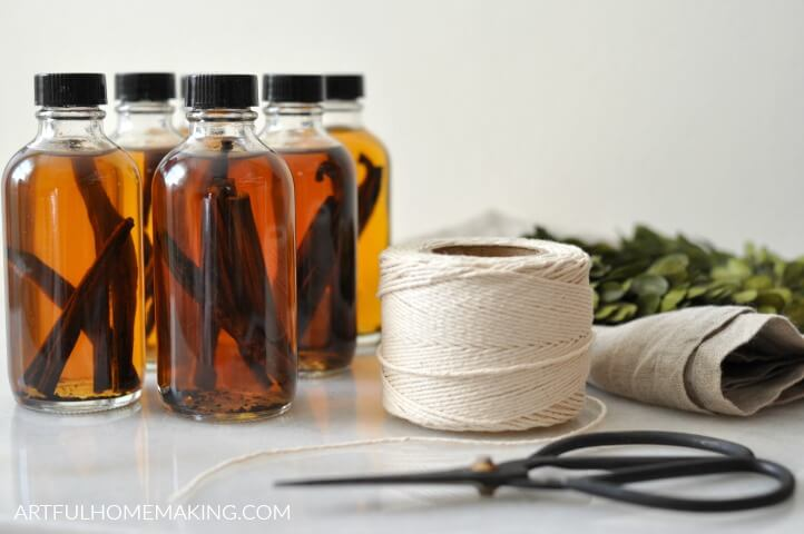 handmade vanilla for gifts