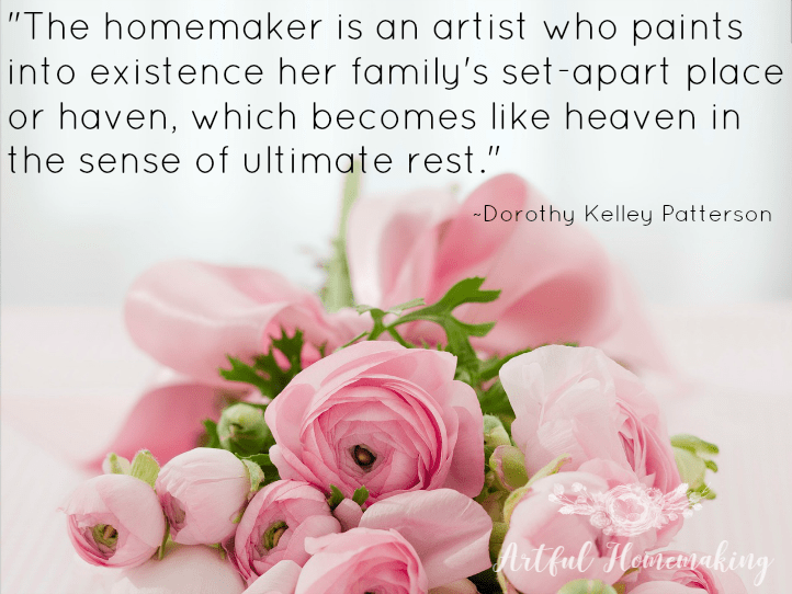 homemaking art