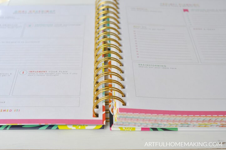 homemakers daily schedule planner