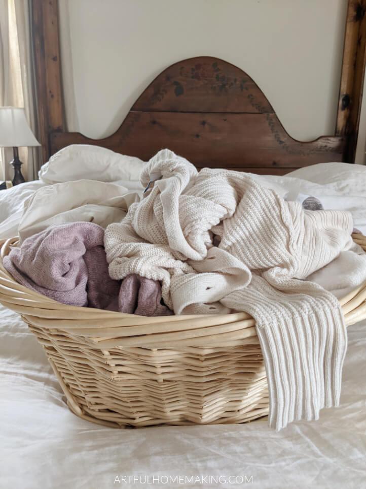 homemaking laundry schedule