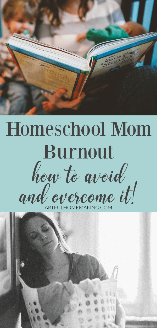 Homeschool Mom Burnout