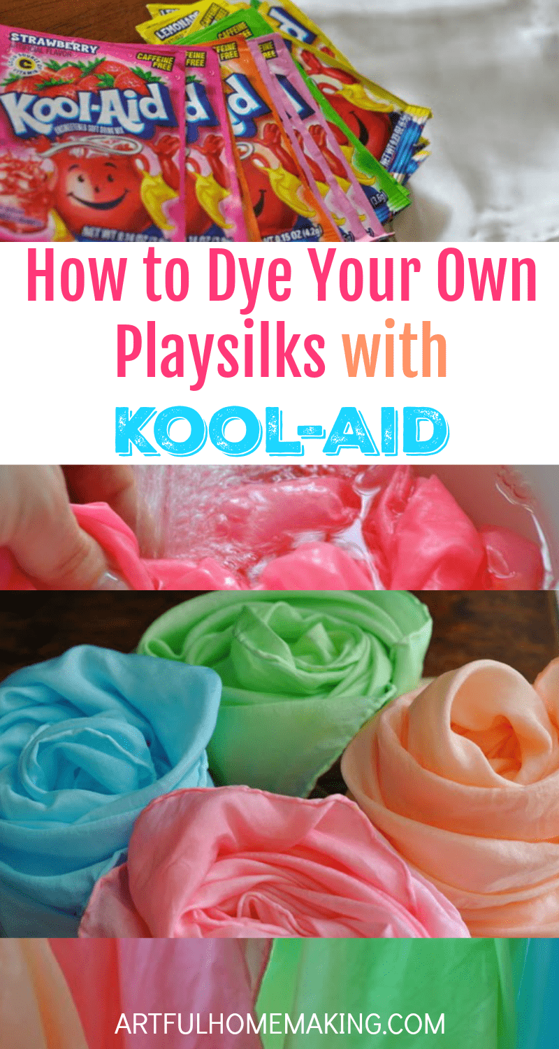 Dye your own playsilks with kool aid tutorial artful homemaking this is the best tutorial for dyeing playsilks with kool aid nvjuhfo Gallery