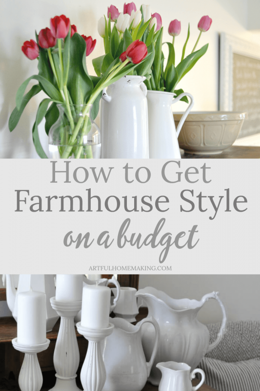 How to Get a Farmhouse Look on a Budget