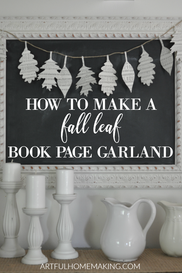 This image has an empty alt attribute; its file name is how-to-make-a-fall-leaf-book-page-garland.png